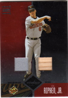 2004 Leaf Limited TNT #206 C.Ripken RET Bat-Jsy/100