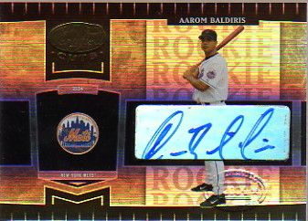 2004 Leaf Certified Cuts #251 A.Baldiris ROO AU/499 RC