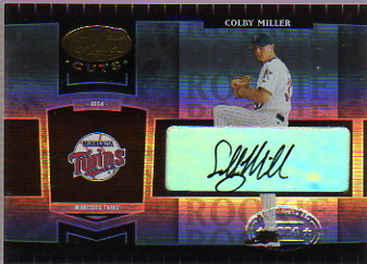 2004 Leaf Certified Cuts #259 C.Miller ROO AU/499 RC