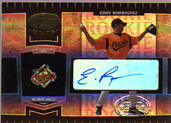 2004 Leaf Certified Cuts #262 E.Rodriguez ROO AU/499 RC