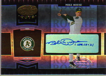 2004 Leaf Certified Cuts #286 M.Rouse ROO AU/329 RC