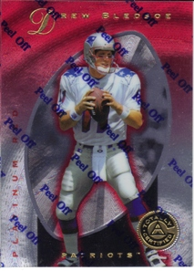 1997 Pinnacle Totally Certified Platinum Red #7 Drew Bledsoe