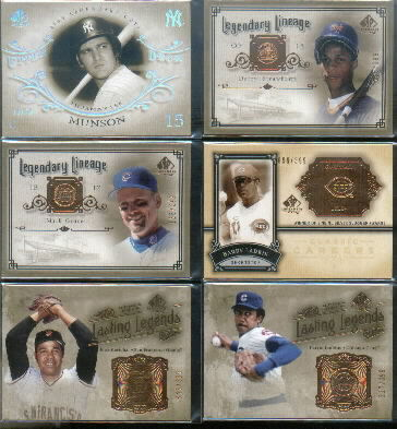 2005 SP Legendary Cuts Lasting Legends #MA Juan Marichal