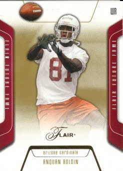2003 Flair #118 Anquan Boldin RC