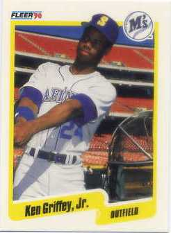1990 Fleer Canadian #513 Ken Griffey Jr.