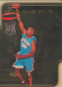 2003-04 Flair Row 1 #114 David West