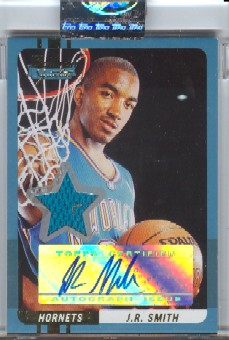 2004-05 Bowman Signature Edition 169 #67 J.R. Smith JSY AU