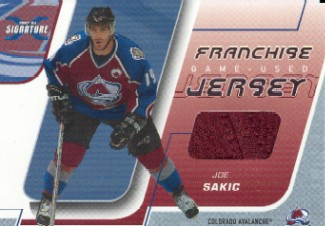 2002-03 BAP Signature Series Franchise Players #FJ9 Joe Sakic