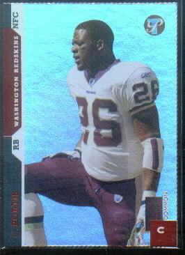 2005 Topps Pristine Die Cuts #27 Clinton Portis C