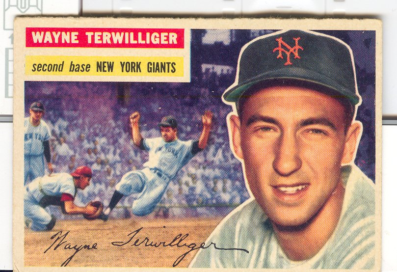 1956 Topps #73 Wayne Terwilliger