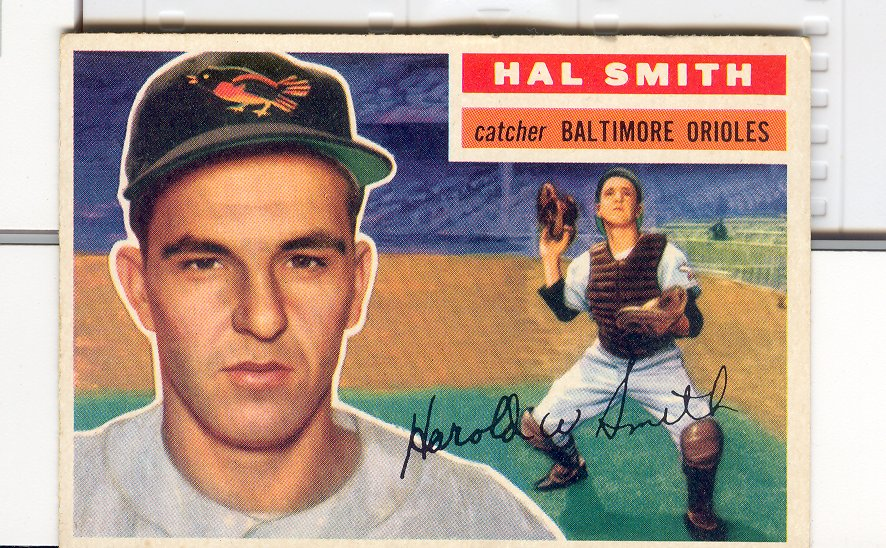 1956 Topps #62 Hal Smith