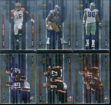 2005 Leaf Rookies and Stars Longevity #97 Alex Smith QB/Frank Gore CL