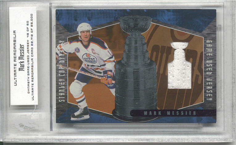 2000-01 BAP Ultimate Memorabilia Dynasty Jerseys #D2 Mark Messier