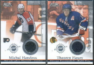 2002-03 Pacific Exclusive Jerseys #4 Theo Fleury