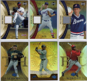 2005 Artifacts Rainbow Blue #10 Barry Larkin