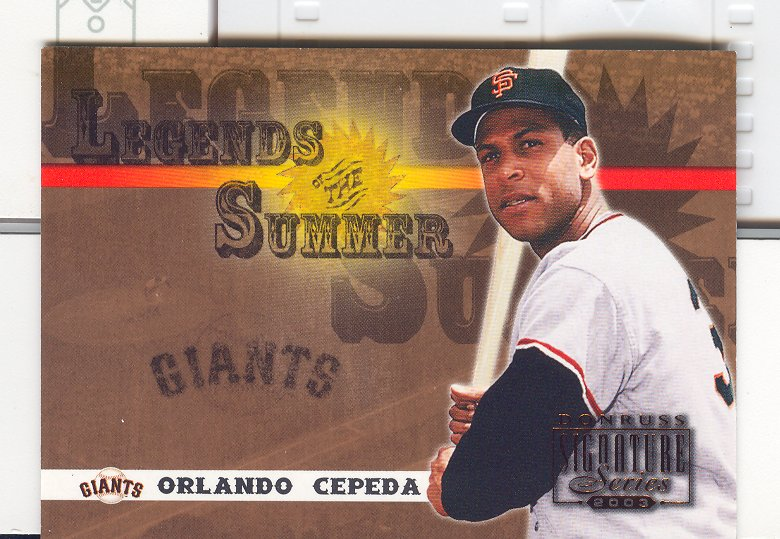 2003 Donruss Signature Legends of Summer #35 Orlando Cepeda