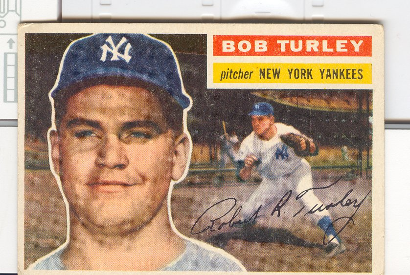 1956 Topps #40 Bob Turley