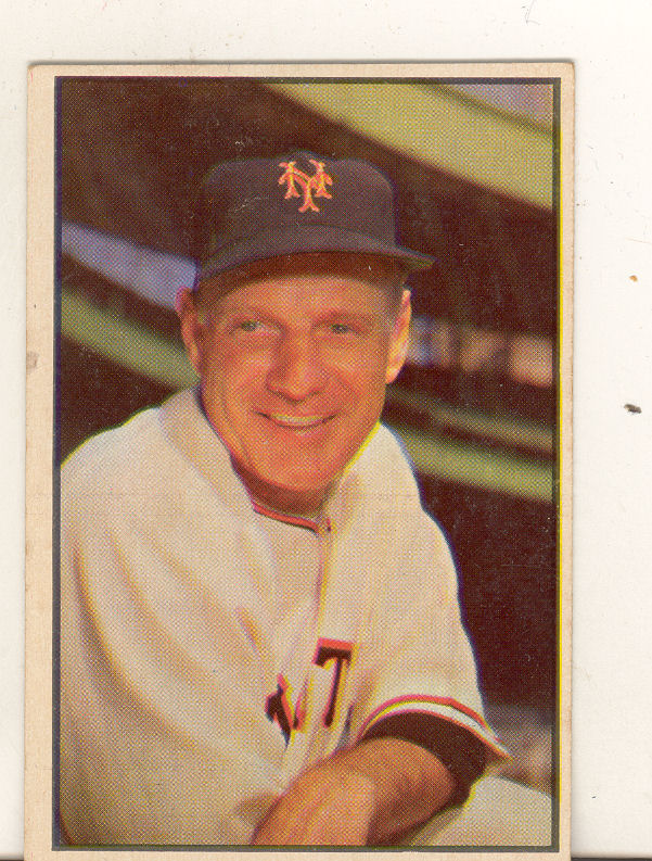 1953 Bowman Color #55 Leo Durocher MG