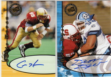 2000 Press Pass Autographs #15 Deon Dyer