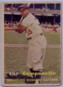 1957 Topps #210 Roy Campanella