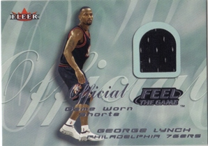 2000-01 Fleer Feel the Game #16 George Lynch