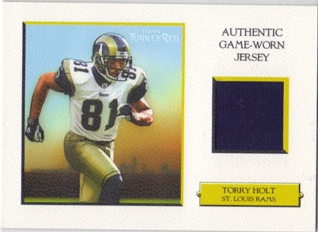 2005 Topps Turkey Red Relics White #TRRTH Torry Holt