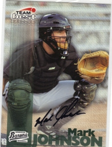 1999 Team Best Autographs #30 Mark Johnson BA