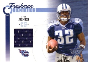 2005 Leaf Rookies and Stars Freshman Orientation Jersey #FO1 Adam Jones