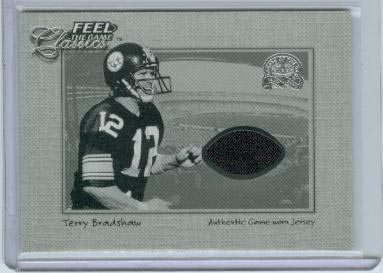 2000 Greats of the Game Feel The Game Classics #3 Terry Bradshaw