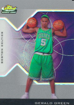 2004-05 Finest Refractors #208 Gerald Green