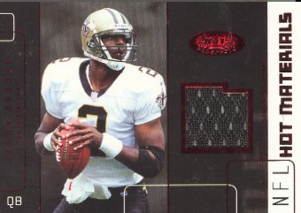 2002 Hot Prospects Red Hot Materials #HMAB Aaron Brooks