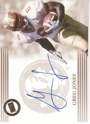 2004 Press Pass Autographs Bronze #18 Greg Jones