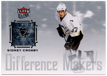 2005-06 Ultra Difference Makers #DM6 Sidney Crosby front image
