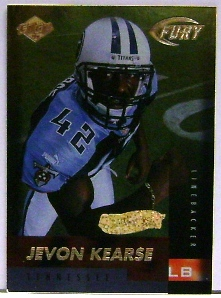 1999 Collector's Edge Fury Gold Ingot #177 Jevon Kearse