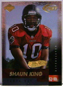 1999 Collector's Edge Fury Gold Ingot #180 Shaun King