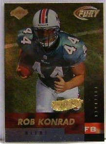 1999 Collector's Edge Fury Gold Ingot #182 Rob Konrad