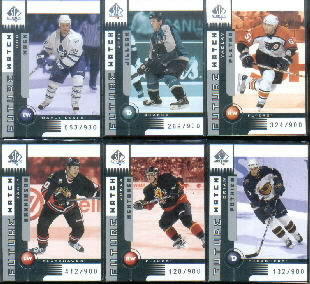 2001-02 SP Authentic #140 Casey Hankinson RC