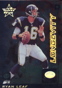 1999 Leaf Rookies and Stars Longevity #159 Ryan Leaf