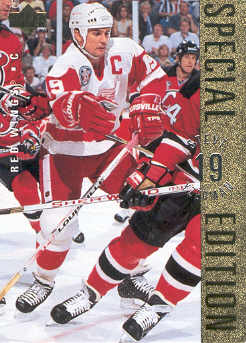 1995-96 Upper Deck Special Edition Gold #SE30 Steve Yzerman