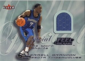 2000-01 Fleer Feel the Game #3 Terrell Brandon
