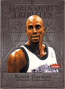 2004-05 Fleer Tradition Hardcourt Tributes #14 Kevin Garnett