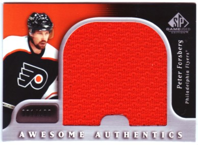 2005-06 SP Game Used Awesome Authentics #AAPF Peter Forsberg front image
