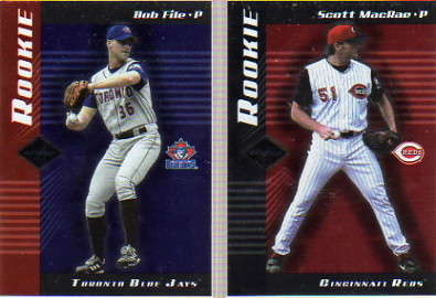 2001 Leaf Limited #217 Bob File RC
