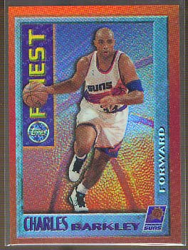 1995-96 Finest Mystery Bordered Refractors Test #M6 Charles Barkley