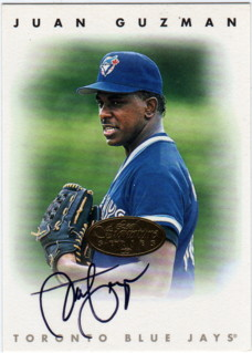 1996 Leaf Signature Autographs Gold #88 Juan Guzman