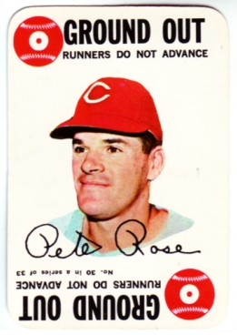 1968 Topps Game #30 Pete Rose front image