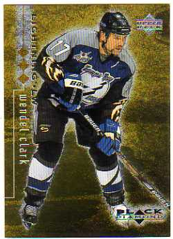 1998-99 Black Diamond Triple Diamond #79 Wendel Clark