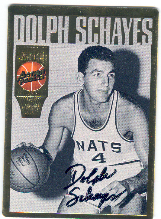 1995 Action Packed Hall of Fame Autographs #22 Dolph Schayes