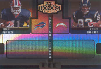 2005 Playoff Honors Rookie Tandem Holofoil #RT10 Roscoe Parrish/Vincent Jackson