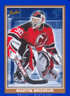 2005-06 Beehive Blue  #52 Martin Brodeur